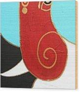 28 Shashwat Ganapati Wood Print