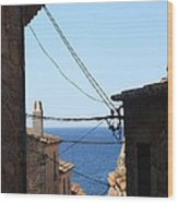 Tossa De Mar Costa Brava Wood Print