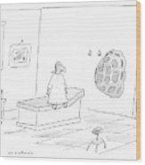 New Yorker September 11th, 2006 Wood Print