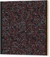 2800 Digits Of Pi Phi And E Wood Print