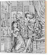 Dance Of Death, 1538 Wood Print