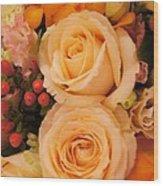 Flowers For You Wood Print by Gornganogphatchara Kalapun