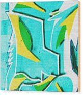 Graffiti Wood Print