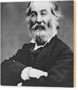 Walt Whitman (1819-1892) Wood Print
