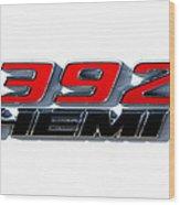 392 Hemi Wood Print