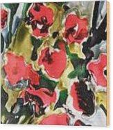 Fragrance Of Flowers Wood Print