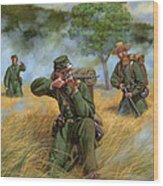 2nd United States Sharpshooters Berdan's Wood Print