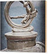 1912 Gobron-brillie 12 Cv Skiff Hood Ornament Wood Print