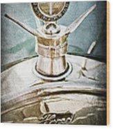 1923 Ford Model T Hood Ornament Wood Print