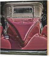 1930 Packard Model 734 Speedster Runabout Wood Print