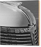 1933 Chevrolet Hood Ornament Wood Print