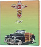 1948 Chrysler Town And Country Wood Print
