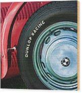 1952 Frazer-nash Le Mans Replica Mkii Competition Model Tire Emblem Wood Print
