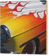 1954 Chevy Bel Air Custom Hot Rod Wood Print