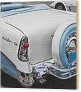 1956 Chevrolet Bel Air Convertible Wood Print