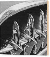 1957 Chevrolet Corvette Grille Wood Print