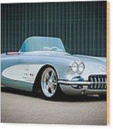 1960 Chevrolet Corvette Wood Print