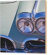 1960 Chevy Corvette Wood Print