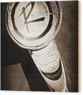 1961 American Rambler Hood Ornament Wood Print