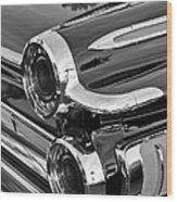 1962 Dodge Polara 500 Taillights Wood Print
