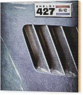 1965 Shelby Cobra 427 Emblem Wood Print