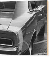 1969 Dodge Charger Wood Print