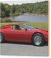 1975 Maserati Merak Wood Print
