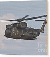 A Ch-53gs Of The German Army Wood Print