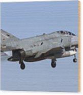 A German Air Force F-4f Phantom II Wood Print