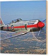 A Hawker Sea Fury T.mk.20 Dreadnought Wood Print