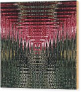 Abstract 117 Wood Print