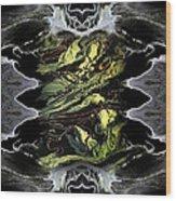 Abstract 51 Wood Print