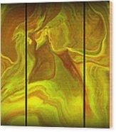 Abstract 99 Wood Print