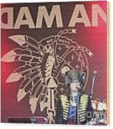 Adam Ant Wood Print