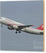 Air Arabia Maroc Airbus A320 Wood Print