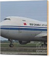 Air China Cargo Boeing 747 Wood Print