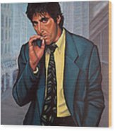Al Pacino 2 Wood Print