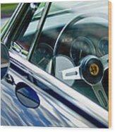 Alfa Romeo Steering Wheel Wood Print