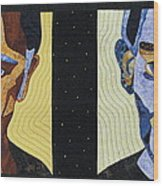 Alternate Universe Wood Print by Lynda K Boardman