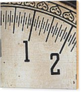 Antique Scale Wood Print