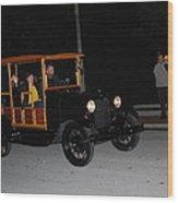 Antique Truck Wood Print