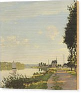Argenteuil Wood Print