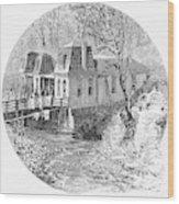 Arkansas Hot Springs, 1878 Wood Print by Granger