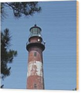 Assateague Lighthouse Wood Print