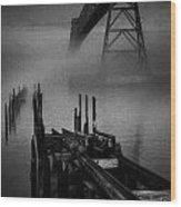 Astoria-megler Bridge Wood Print
