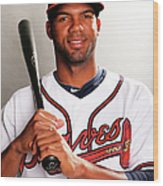 Atlanta Braves Photo Day Wood Print
