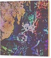 Aurora's Nightmare II Wood Print