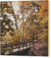 Autumn Awaits Wood Print