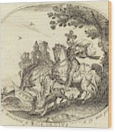 Balthasar Moncornet French Wood Print