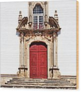 Baroque Portal Wood Print